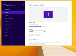 Рабочий стол и панель задач Windows 9 получат новый дизайн