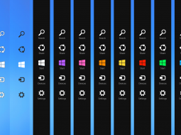 Панель чудо-кнопок исчезнет с рабочего стола Windows 9