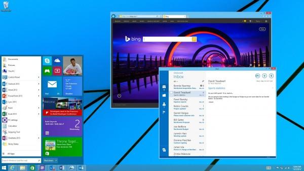 Предварительная версия Windows 9 будет опубликована в конце сентября
