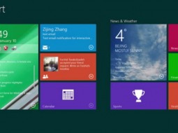 Интерфейс Windows 9 получит интерактивные плитки, живые папки и центр уведомлений