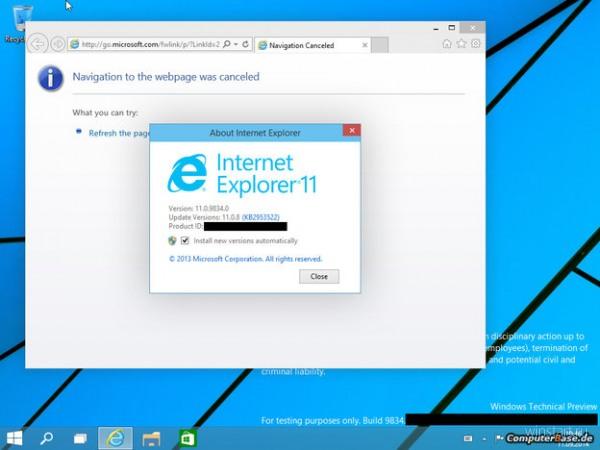 Internet Explorer 12 будет похож на Chrome