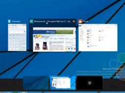 Видео-демонстрация виртуальных рабочих столов Windows 9
