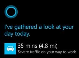 Cortana станет частью системного поиска