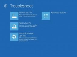 Как удалить предварительные обновления в Windows 10 Technical Preview?