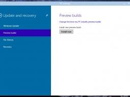 Как установить новую сборку Windows 10 Technical Preview?