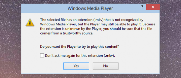 Windows 10 получила поддержку MKV