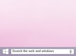 На панели задач Windows 10 может поселиться поисковая строка
