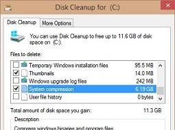 В Windows 10 Technical Preview 9879 появился инструмент для сжатия системы